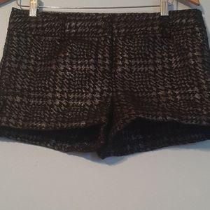 Like New Cond,Express Black & Metallic Shorts
